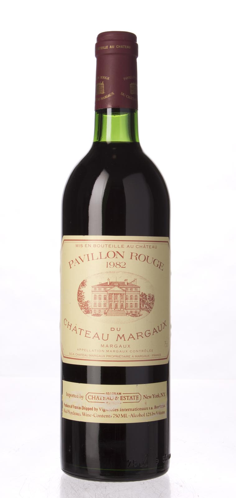 Pavillon Rouge du Chateau Margaux 1982, 750mL (WS92) from The BPW - Merchants of rare and fine wines.