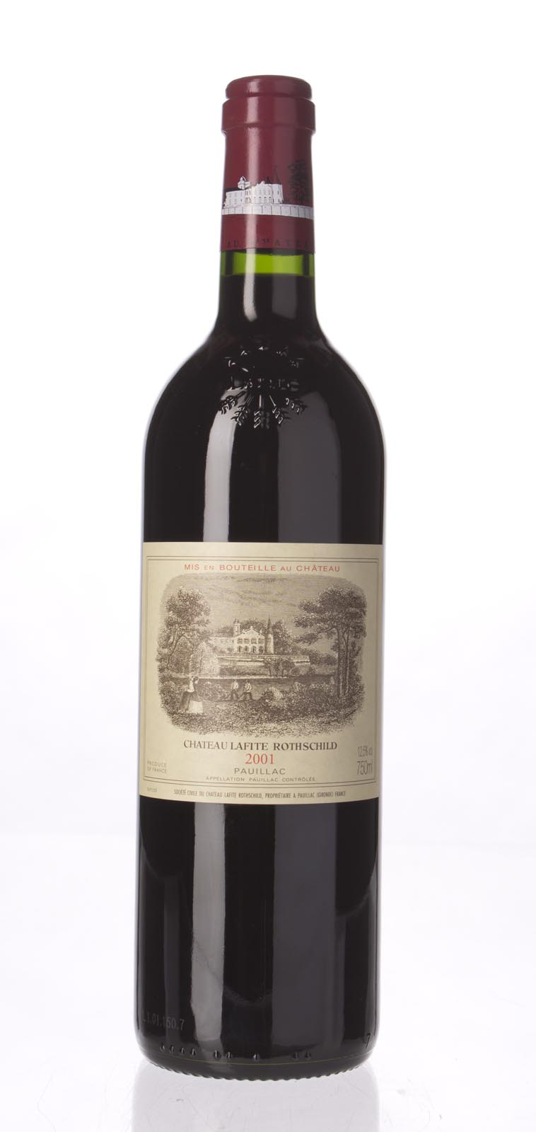 Lafite Rothschild 2001, 750ml (WA94, WS96) from The BPW - Merchants of rare and fine wines.