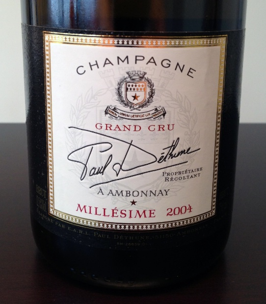 Paul Dethune Brut Grand Cru 2000, 750ml () from The BPW - Merchants of rare and fine wines.