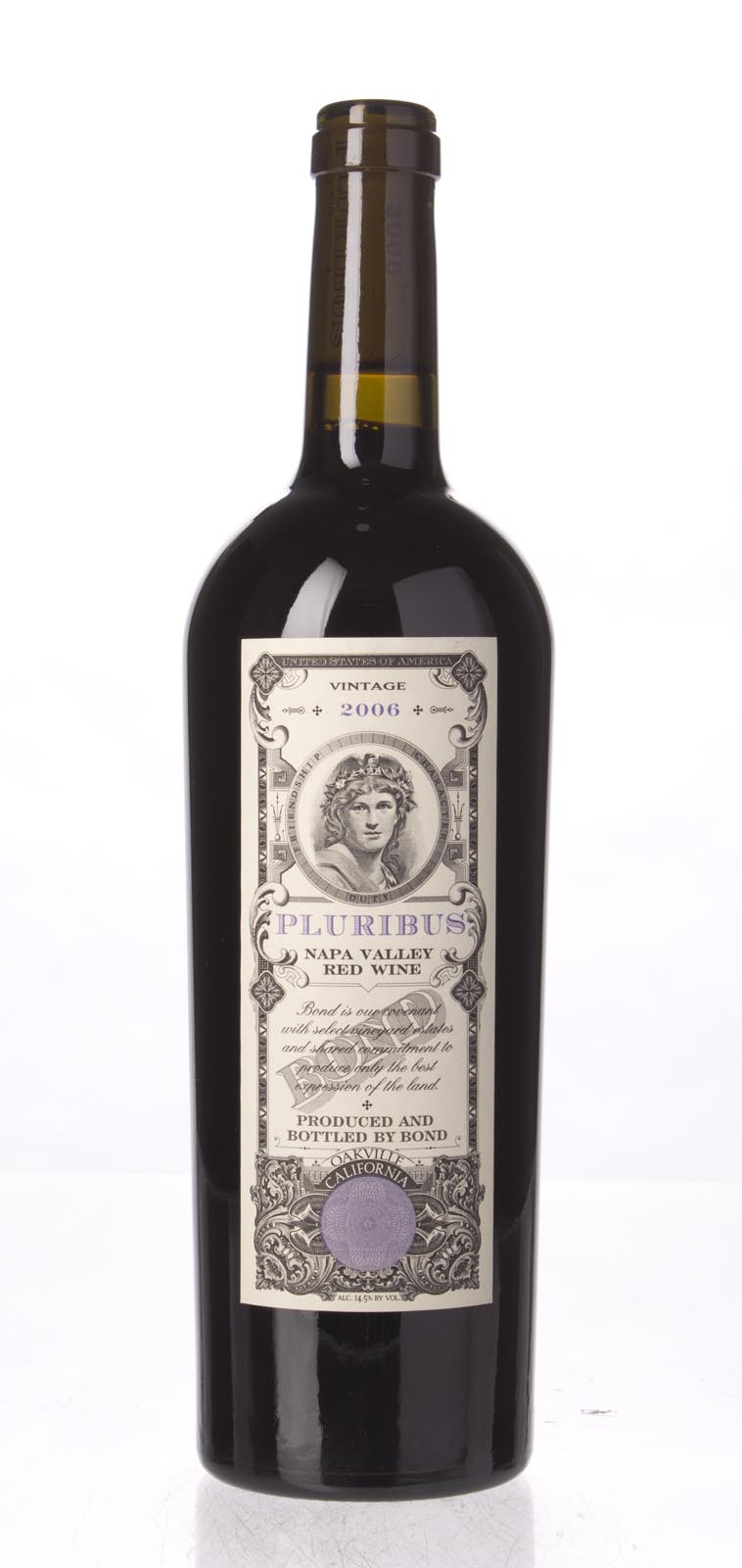 Bond Pluribus 2006, 750mL (WA94, ST96) from The BPW - Merchants of rare and fine wines.