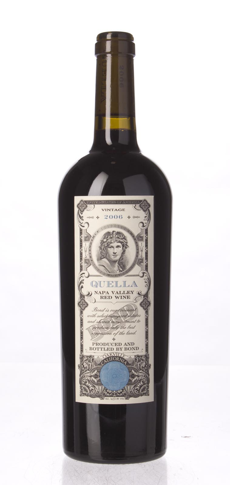 Bond Quella 2006, 750mL (JS92, WA92, ST93, WS93) from The BPW - Merchants of rare and fine wines.