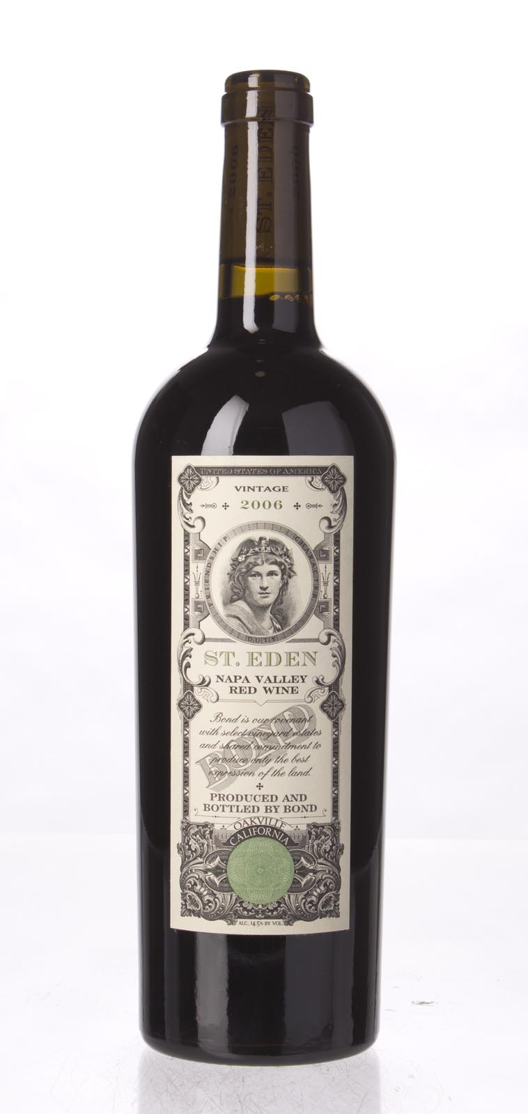 Bond St. Eden 2006, 750mL (WA94, ST93+) from The BPW - Merchants of rare and fine wines.