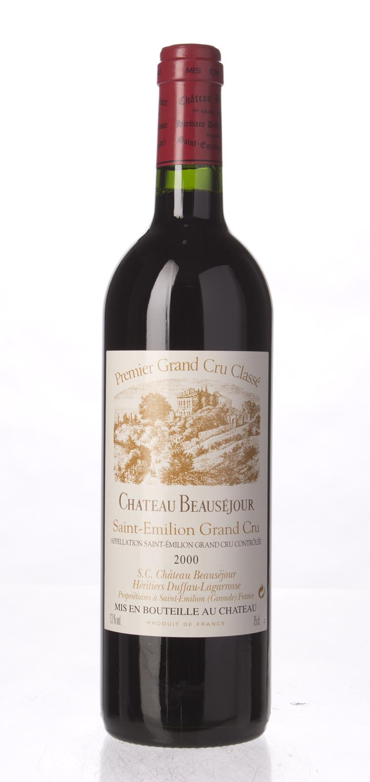 Beausejour Duffau Lagarosse 2000, 750mL (WA93, WS91) from The BPW - Merchants of rare and fine wines.