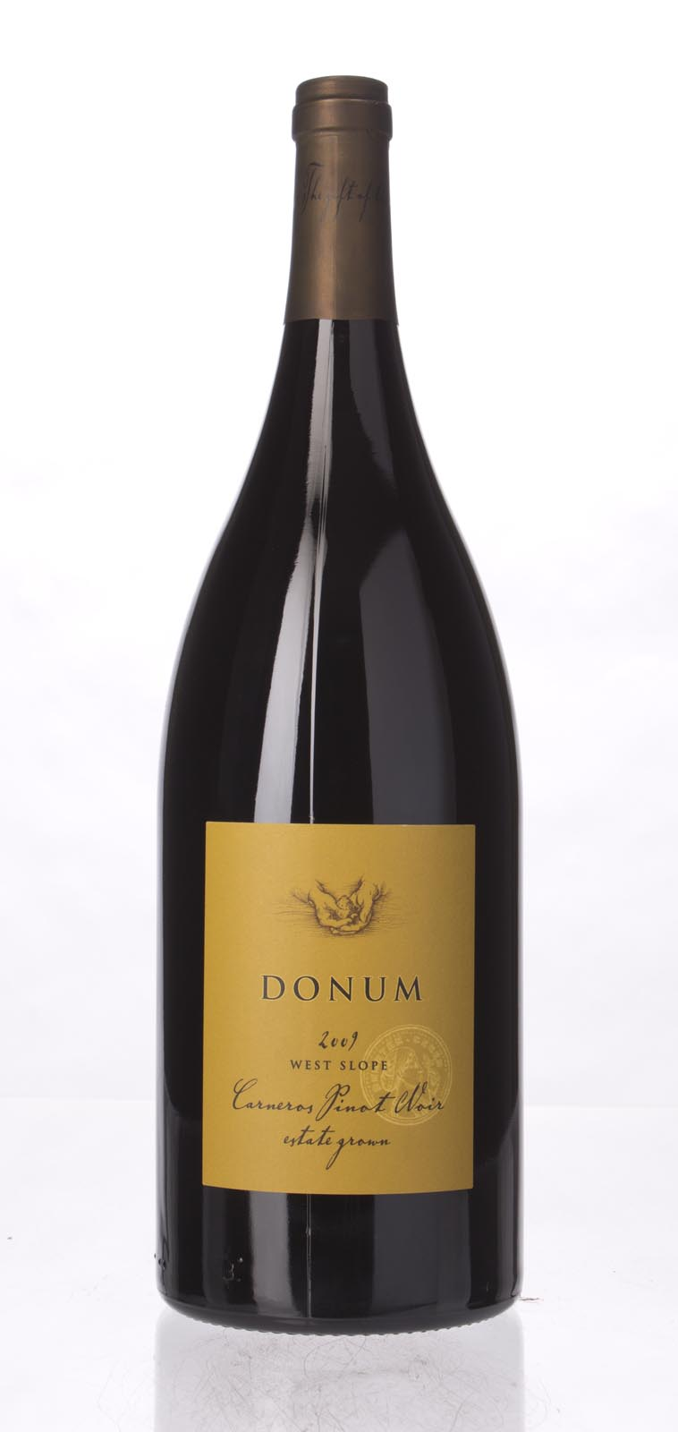 Donum Pinot Noir Carneros West Slope 2009, 1.5L (WS94) from The BPW - Merchants of rare and fine wines.