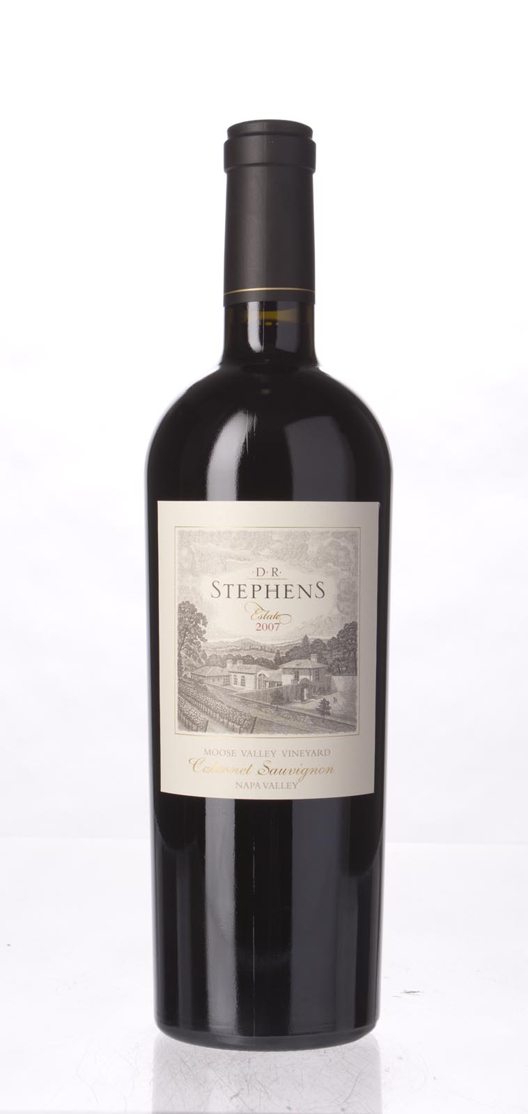 D.R. Stephens Cabernet Sauvignon Moose Valley Vineyard 2007, 750mL (WA90, ST91, WS93) from The BPW - Merchants of rare and fine wines.
