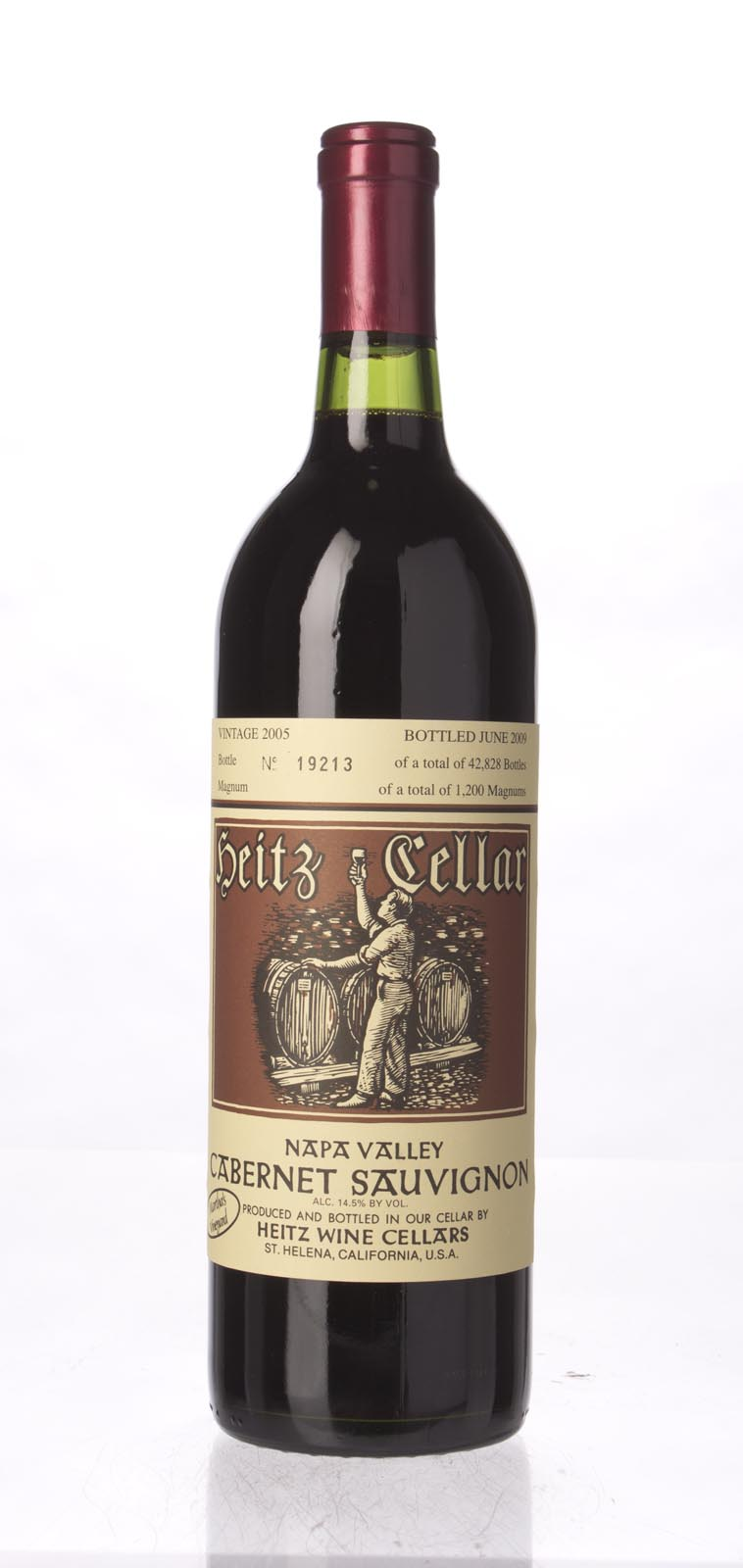 Heitz Cabernet Sauvignon Martha`s Vineyard 2005, 750mL (WS93) from The BPW - Merchants of rare and fine wines.