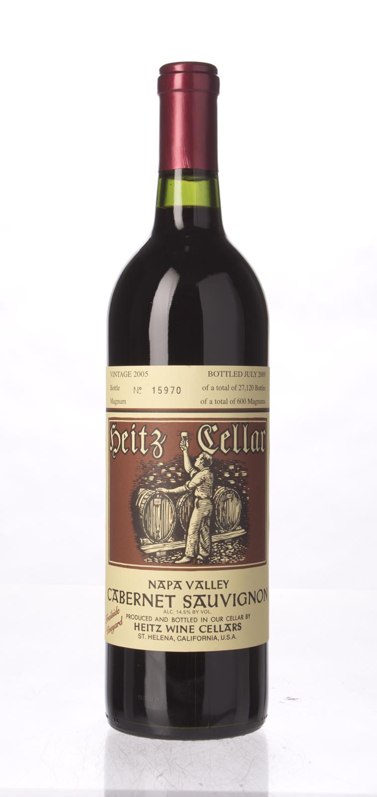 Heitz Cabernet Sauvignon Trailside Vineyard 2005, 750mL () from The BPW - Merchants of rare and fine wines.
