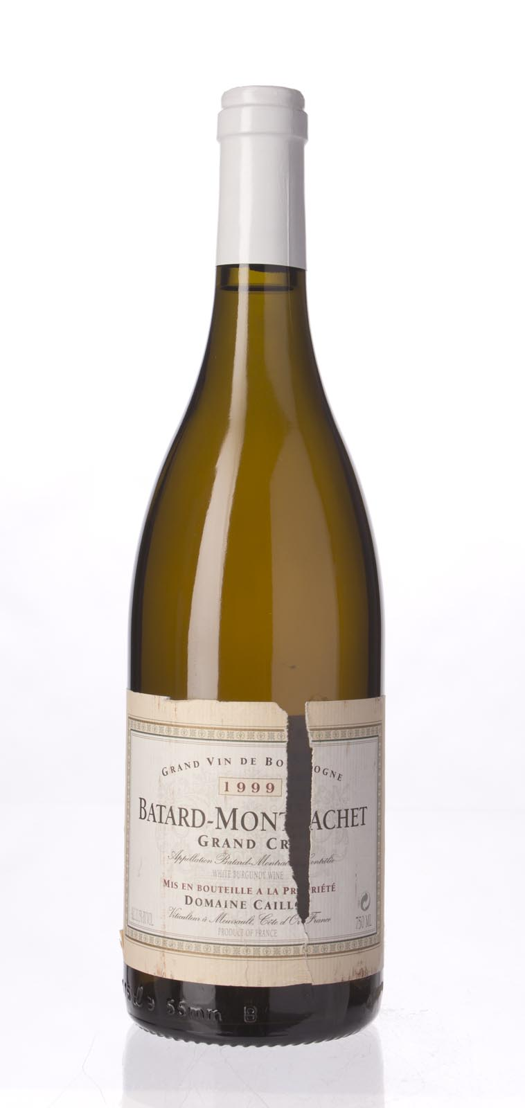 Roger Caillot et Fils Batard Montrachet 1999, 750mL () from The BPW - Merchants of rare and fine wines.
