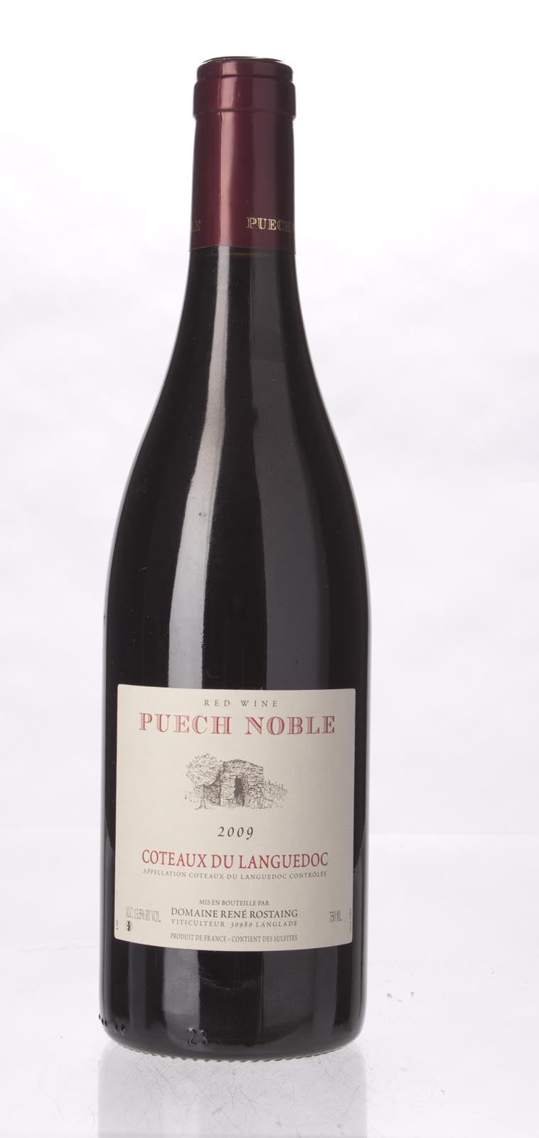 Domaine Puech Noble Coteaux du Languedoc (Rostaing) 2009, 750ml (WA90) from The BPW - Merchants of rare and fine wines.