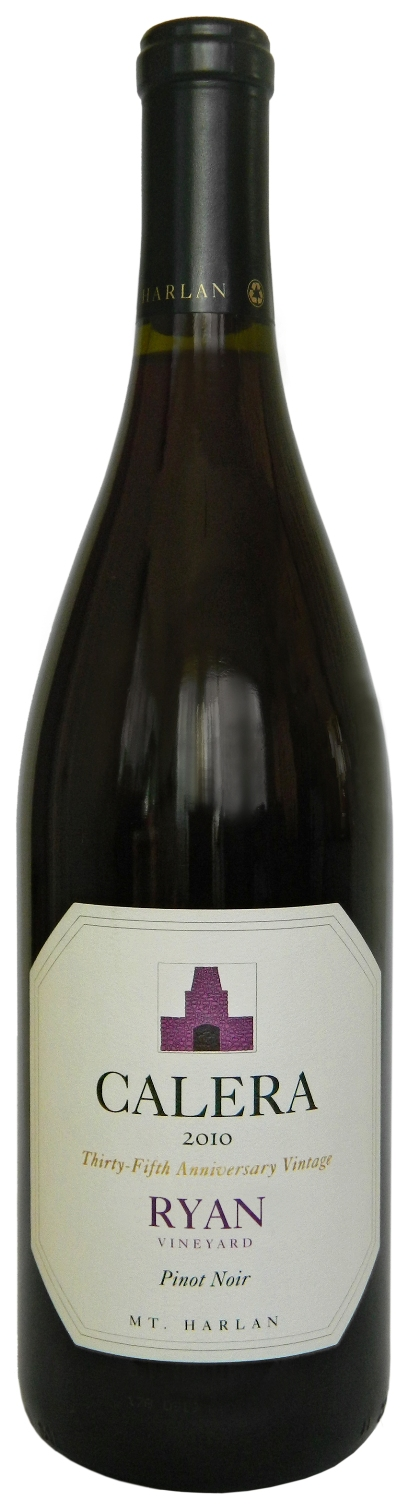 Calera Pinot Noir Ryan Vineyard 2010, 750ml (WA94) from The BPW - Merchants of rare and fine wines.