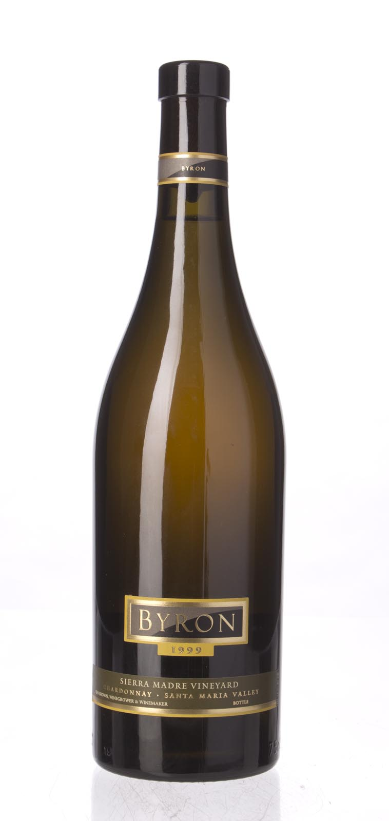 Byron Chardonnay Sierra Madre Vineyard 1999, 750mL () from The BPW - Merchants of rare and fine wines.