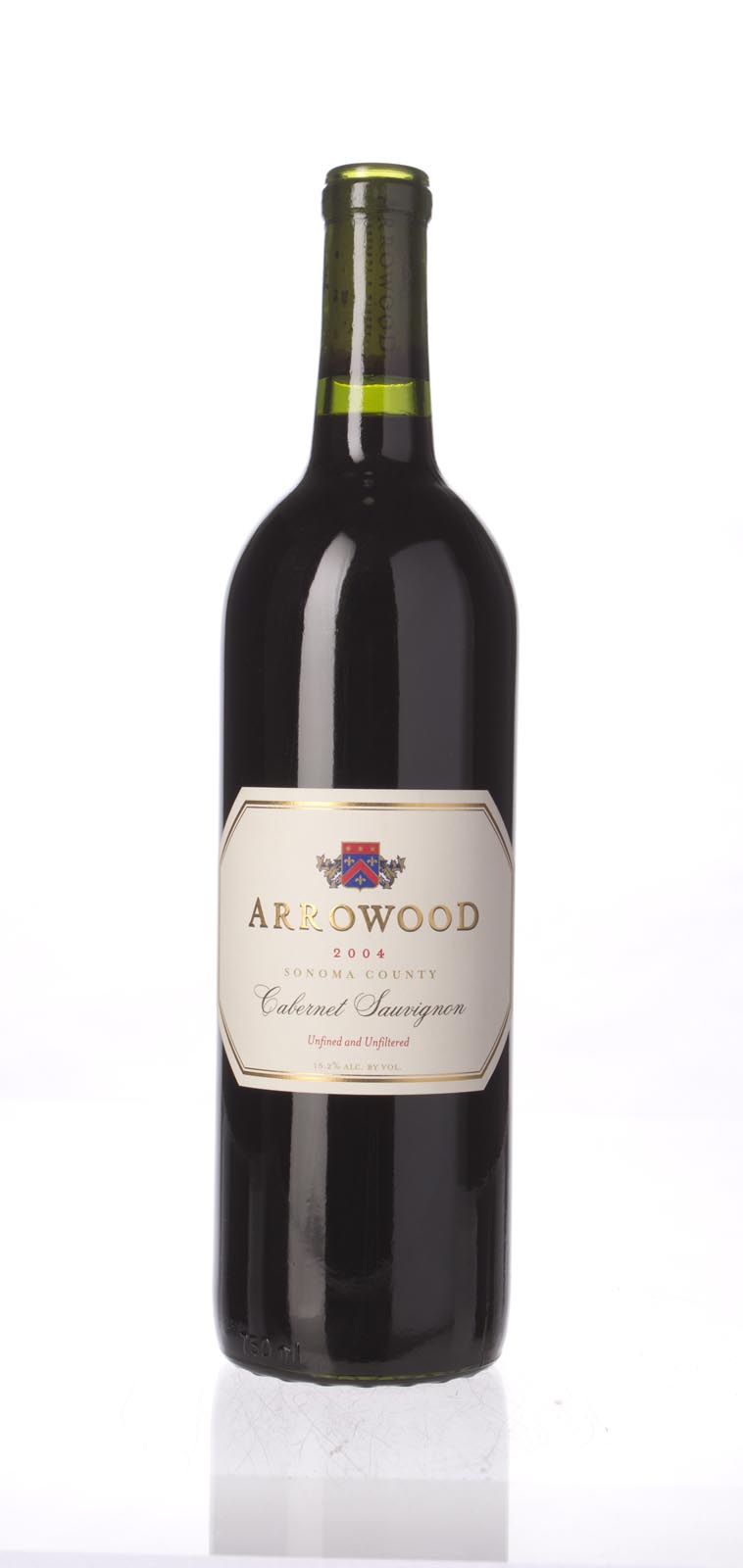 Arrowood Cabernet Sauvignon Sonoma County 2004, 750mL (WS90) from The BPW - Merchants of rare and fine wines.