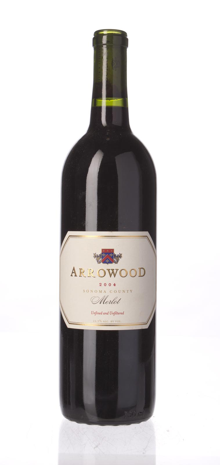 Arrowood Merlot Sonoma County 2004, 750mL (WA89) from The BPW - Merchants of rare and fine wines.