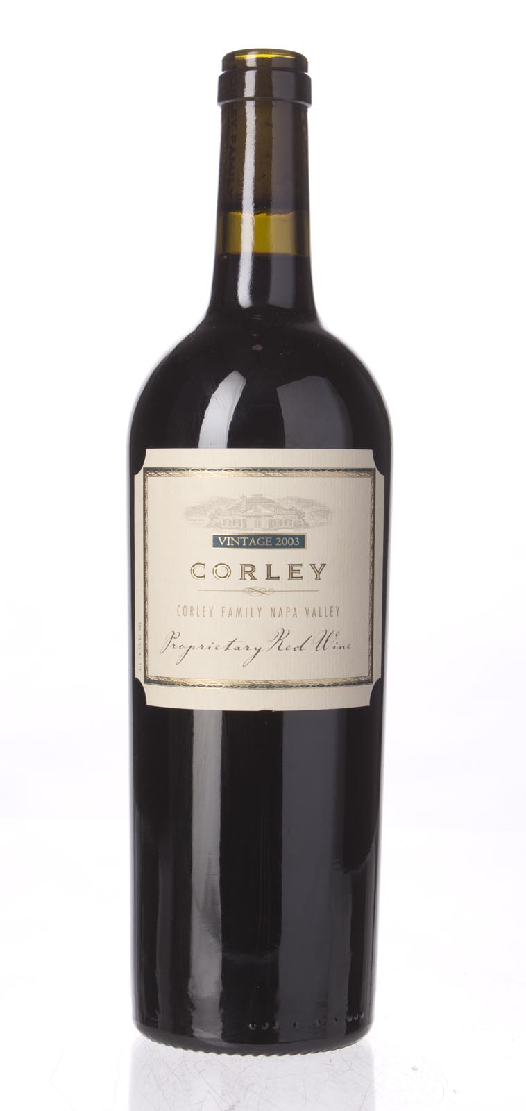 Corley Proprietary Red Napa Valley 2003, 750mL () from The BPW - Merchants of rare and fine wines.