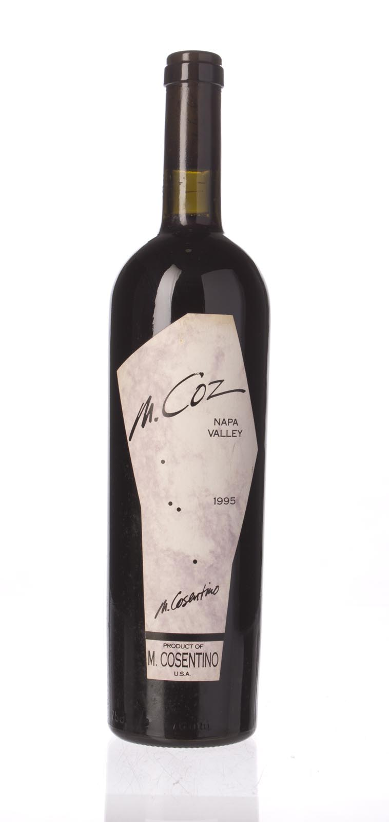 Cosentino Proprietary Red M. Coz 1995, 750mL () from The BPW - Merchants of rare and fine wines.