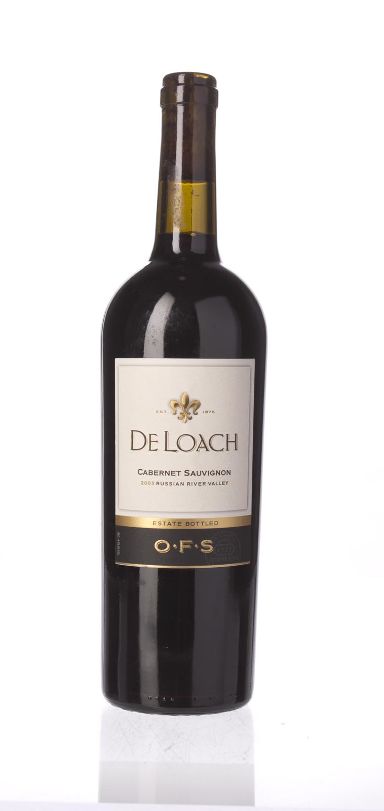 De Loach Cabernet Sauvignon OFS 2003,  () from The BPW - Merchants of rare and fine wines.