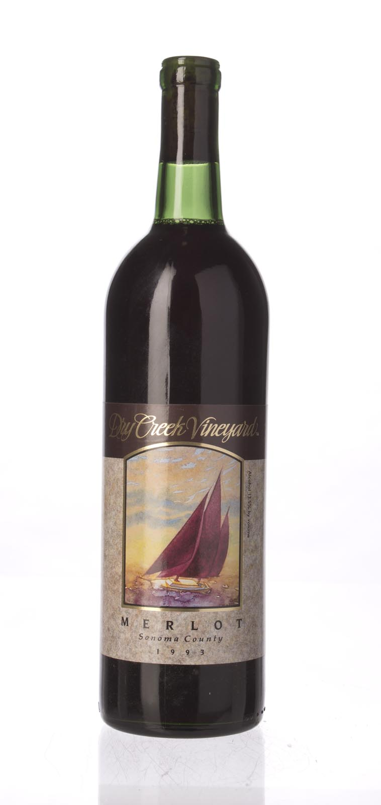 Dry Creek Vineyards Merlot 1993, 750mL () from The BPW - Merchants of rare and fine wines.