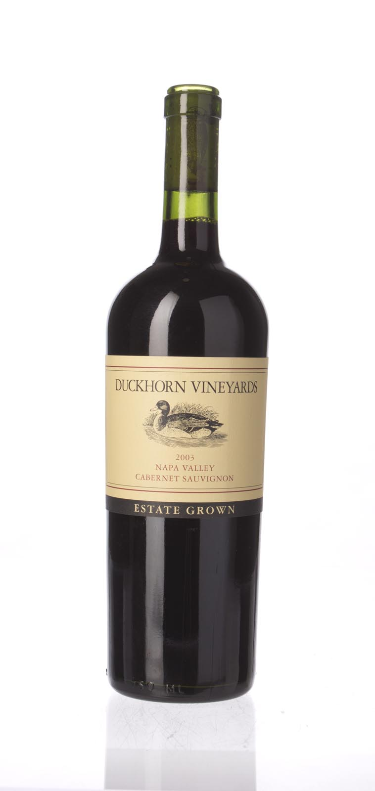 Duckhorn Cabernet Sauvignon Estate Grown 2003, 750mL (ST88) from The BPW - Merchants of rare and fine wines.
