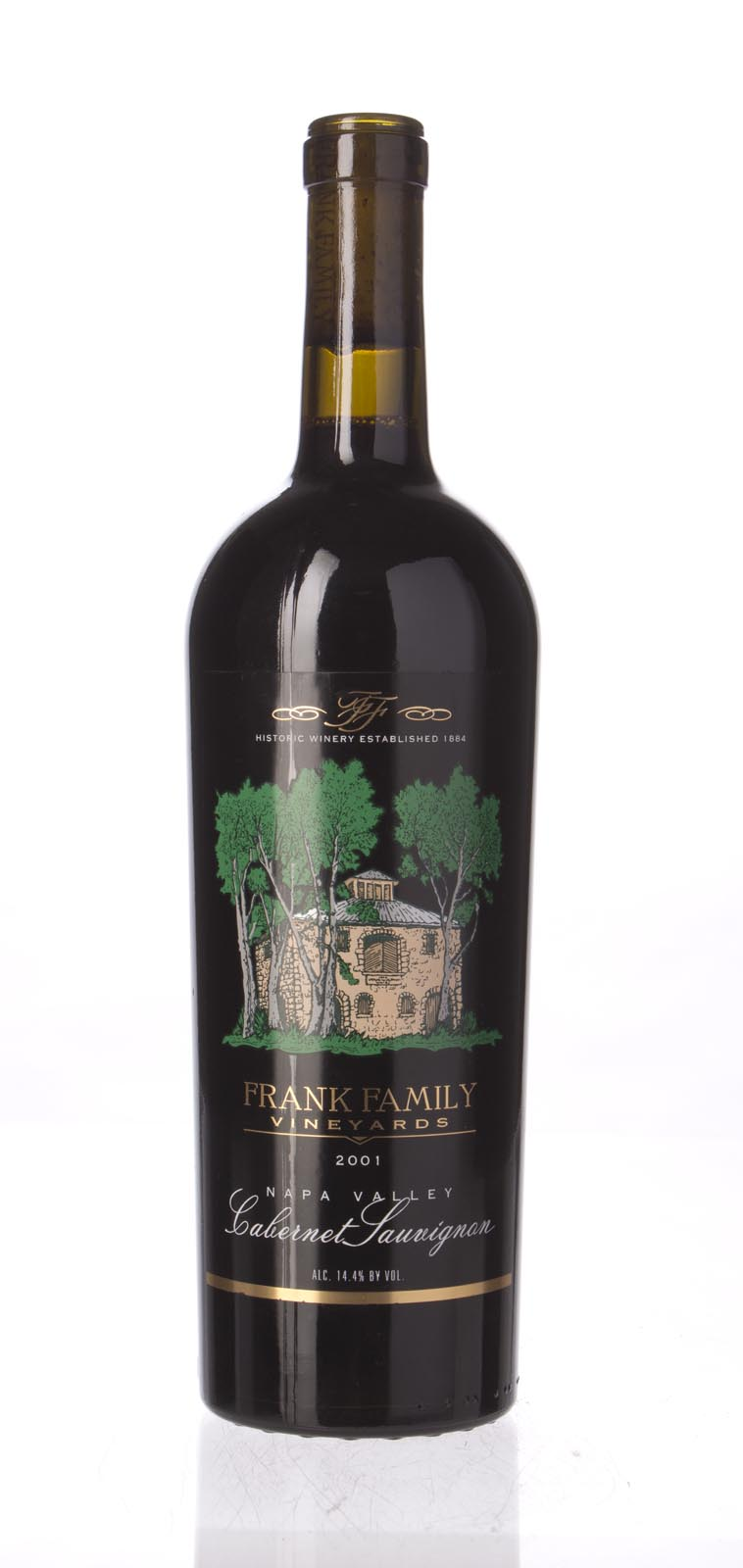Frank Family Cabernet Sauvignon Napa Valley 2001, 750ml (WA91) from The BPW - Merchants of rare and fine wines.