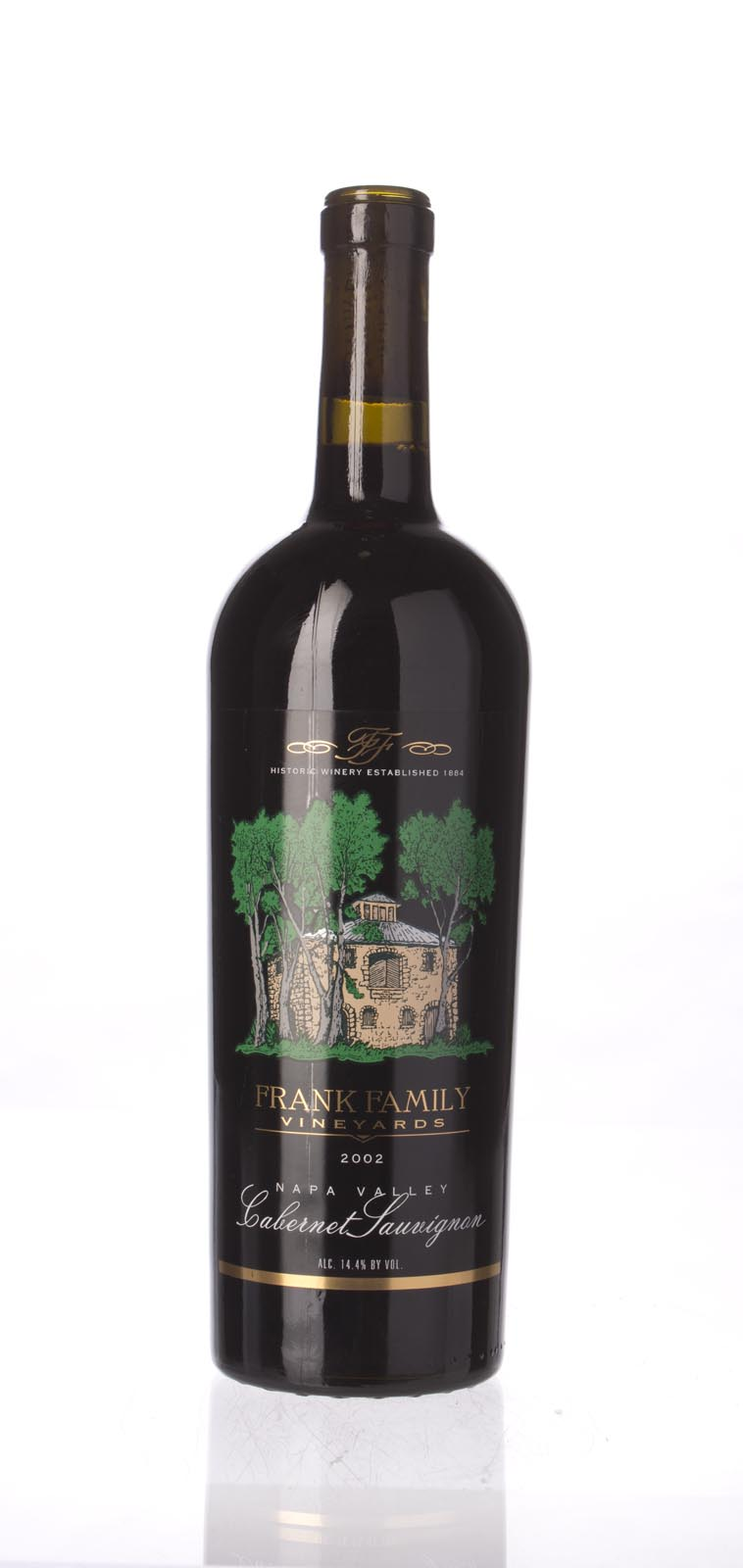 Frank Family Cabernet Sauvignon Napa Valley 2002, 750ml () from The BPW - Merchants of rare and fine wines.