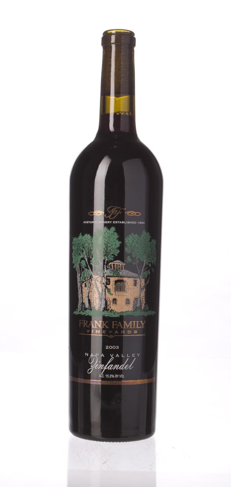 Frank Family Zinfandel Napa Valley 2003, 750ml () from The BPW - Merchants of rare and fine wines.