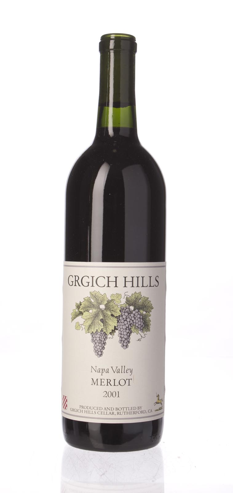 Grgich Hills Merlot Napa Valley 2001, 750ml () from The BPW - Merchants of rare and fine wines.