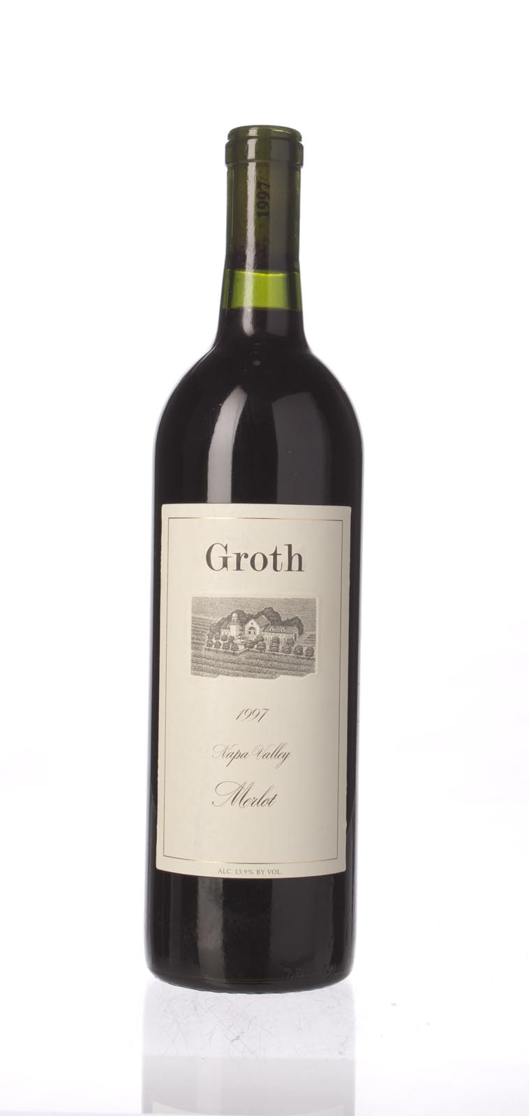 Groth Vineyards Merlot 1997, 750ml () from The BPW - Merchants of rare and fine wines.