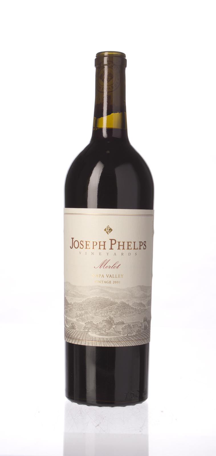 Joseph Phelps Merlot Napa Valley 2001, 750mL () from The BPW - Merchants of rare and fine wines.