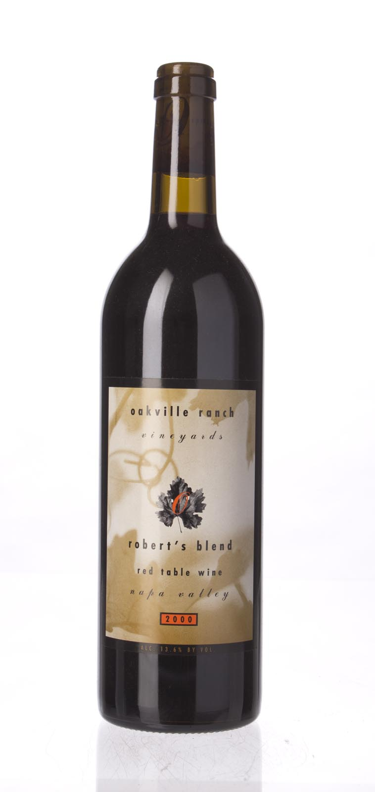 Oakville Ranch Cabernet Franc Robert`s Blend 2000, 750ml () from The BPW - Merchants of rare and fine wines.