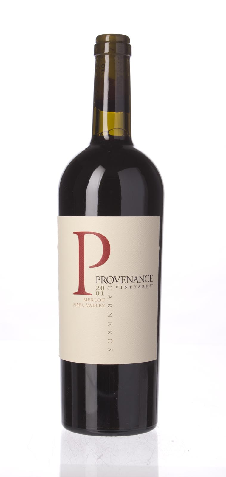 Provenance Merlot Napa Valley 2001, 750ml () from The BPW - Merchants of rare and fine wines.