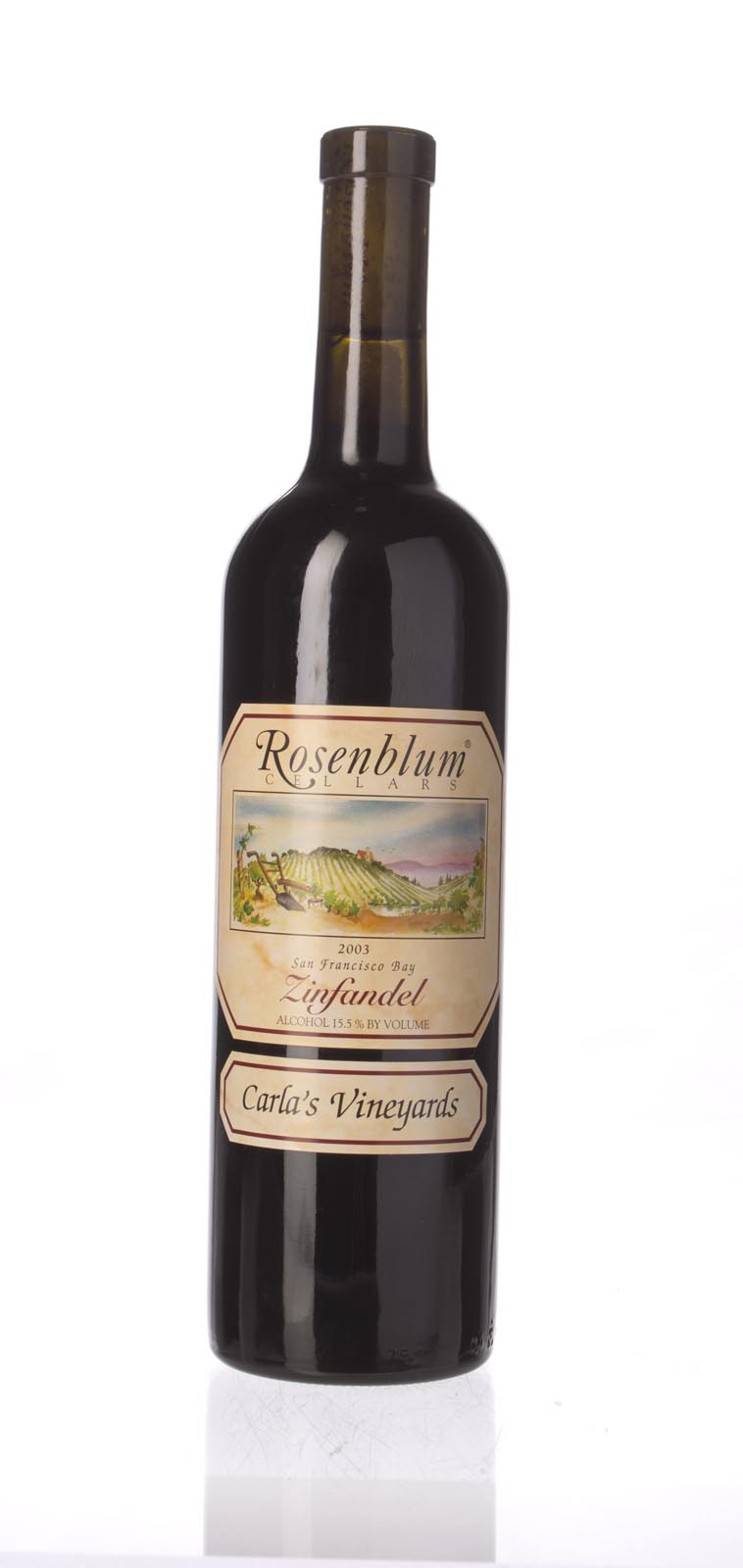 Rosenblum Cellars Zinfandel Carla`s Vineyard 2003, 750ml () from The BPW - Merchants of rare and fine wines.