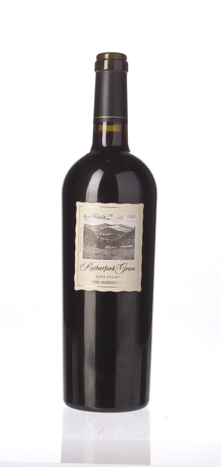 Rutherford Grove Sangiovese Napa Valley 1998, 750ml () from The BPW - Merchants of rare and fine wines.