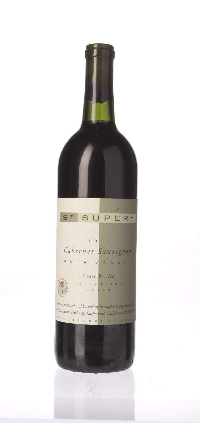 St. Supery Cabernet Sauvignon Dollarhide Ranch 1991, 750ml () from The BPW - Merchants of rare and fine wines.
