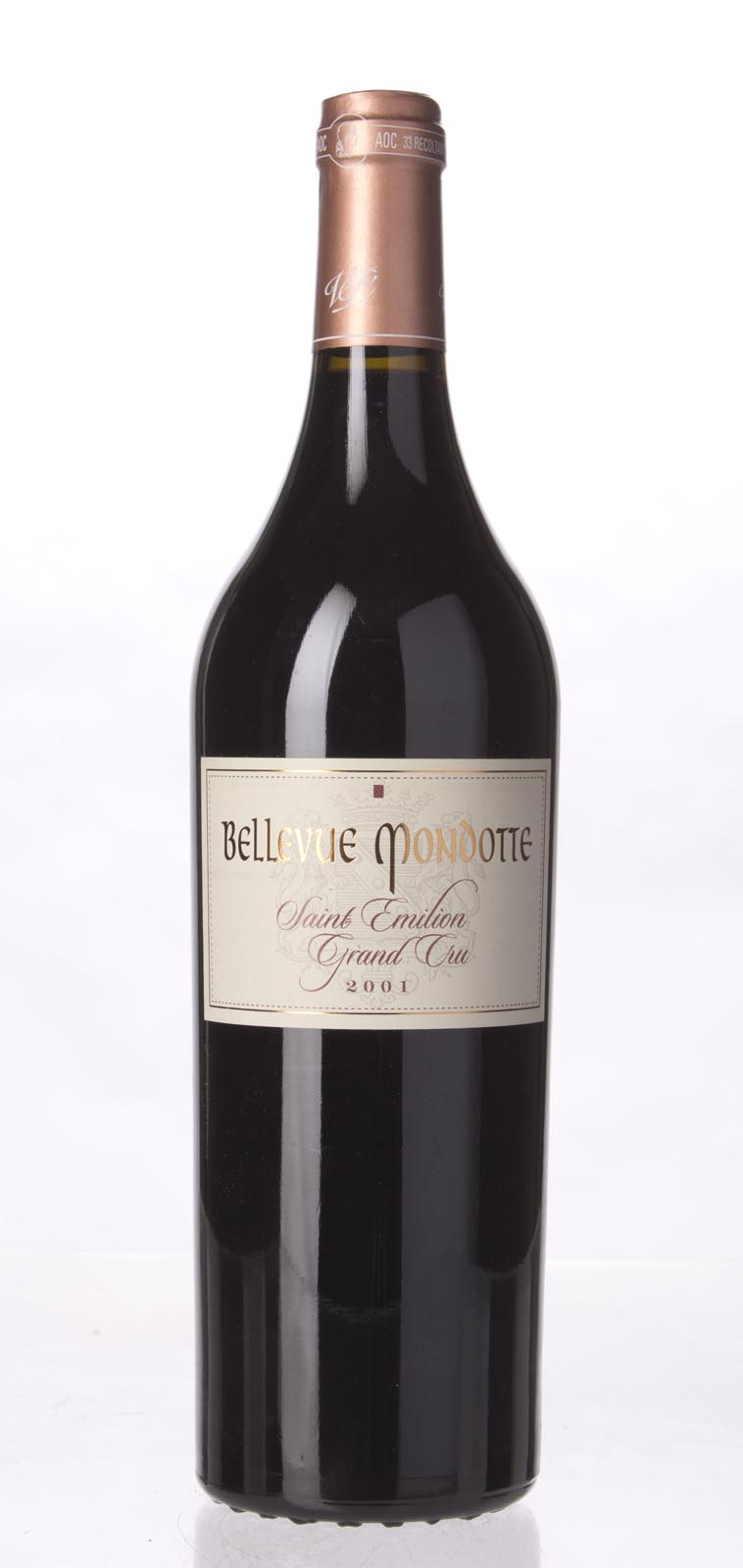 Bellevue Mondotte 2001,  (WA94) from The BPW - Merchants of rare and fine wines.