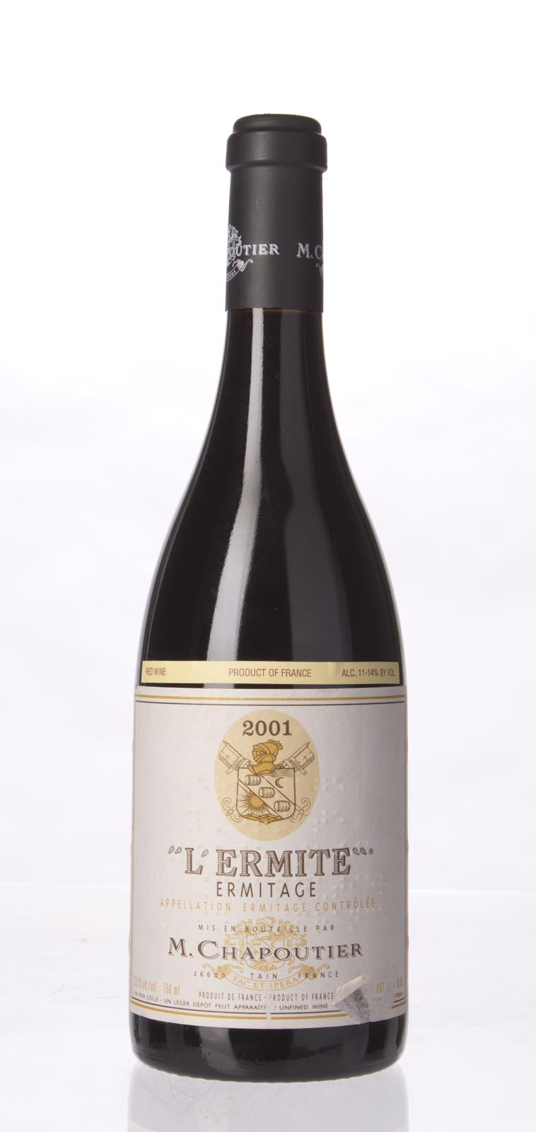 Chapoutier Ermitage l`Ermite 2001,  (WA98-100, WS96) from The BPW - Merchants of rare and fine wines.