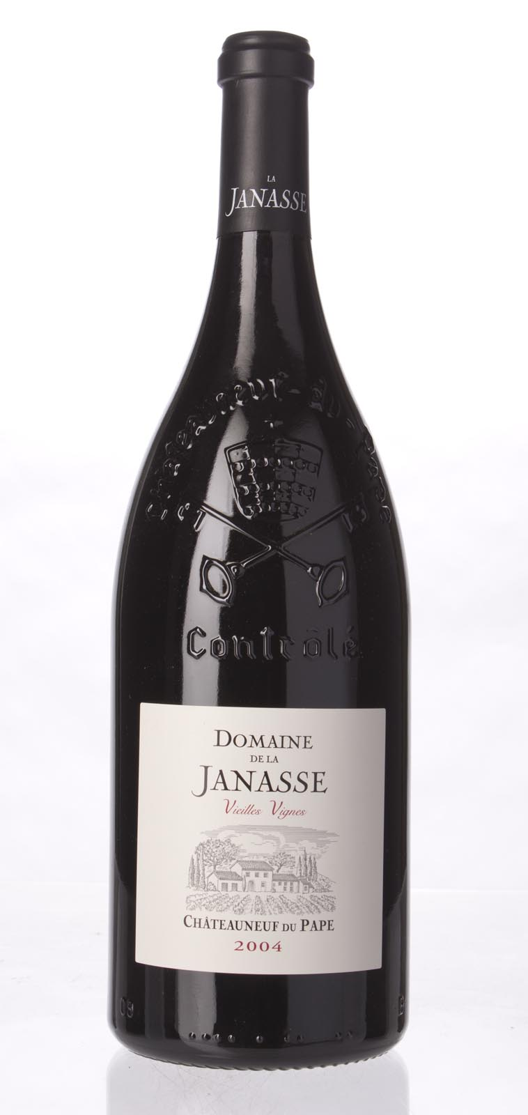 Domaine de la Janasse Chateauneuf du Pape Cuvee Vieilles Vignes 2004, 1.5L (WA93, ST95, WS94) from The BPW - Merchants of rare and fine wines.