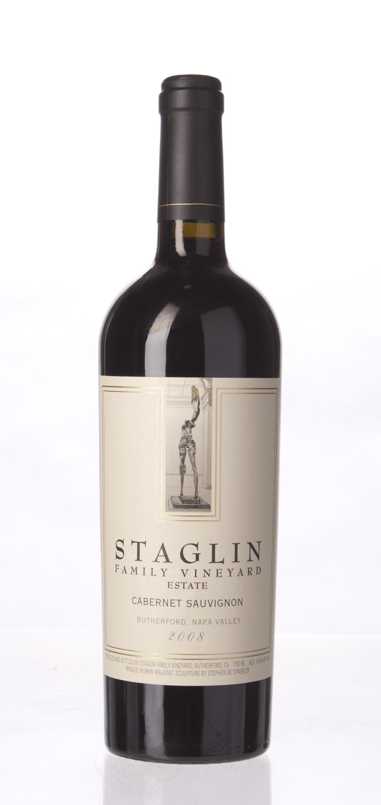Staglin Family Vineyard Cabernet Sauvignon Rutherford 2008,  (ST92, WS94) from The BPW - Merchants of rare and fine wines.