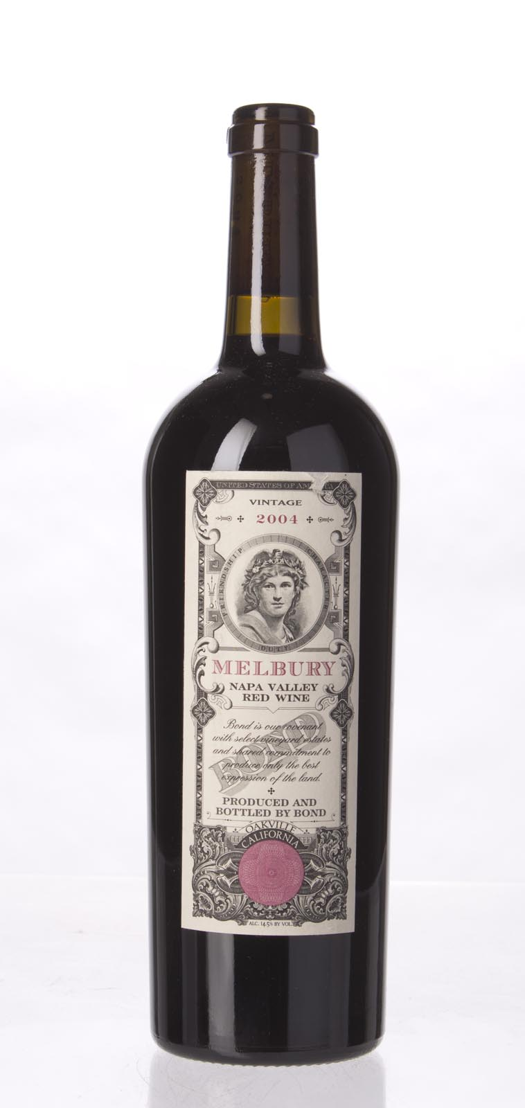 Bond Melbury 2004,  (WA95, WS97) from The BPW - Merchants of rare and fine wines.