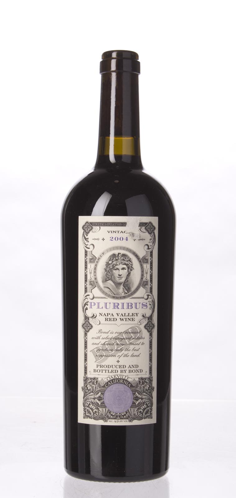 Bond Pluribus 2004,  (WA95, WS96) from The BPW - Merchants of rare and fine wines.