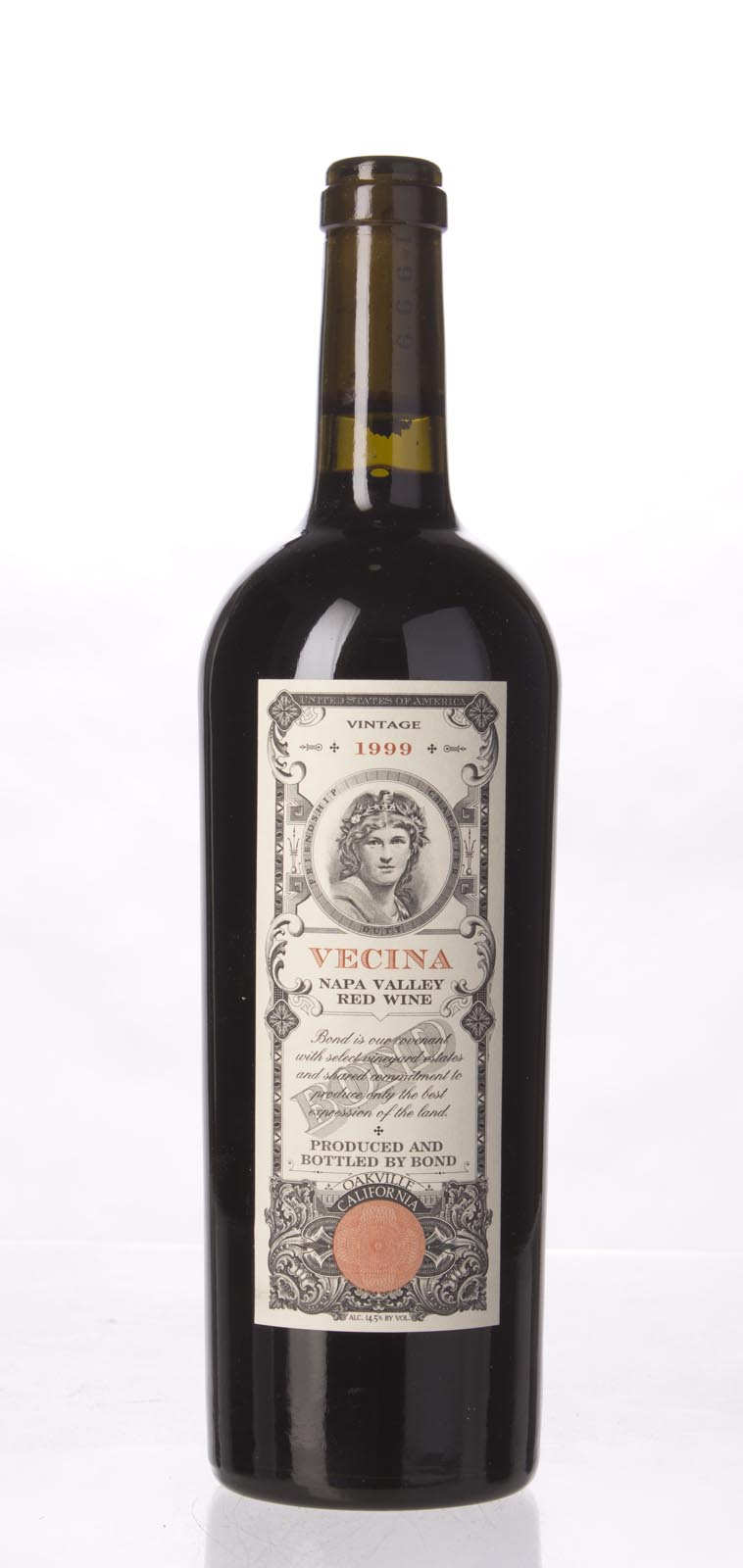 Bond Vecina 1999,  (WA90-92, ST92, WS92) from The BPW - Merchants of rare and fine wines.