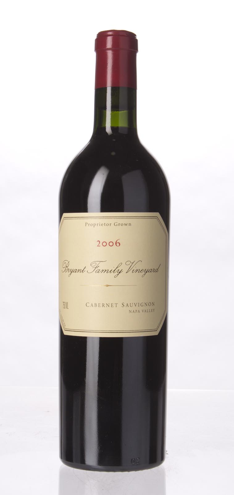 Bryant Family Vineyard Cabernet Sauvignon Pritchard Hill 2006,  (WS98) from The BPW - Merchants of rare and fine wines.