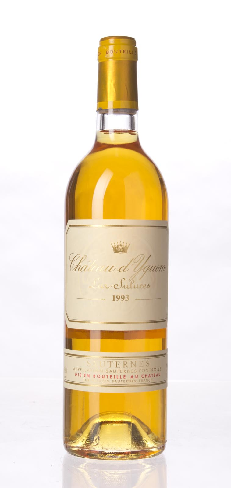 Chateau d`Yquem 1993, 750ml () from The BPW - Merchants of rare and fine wines.