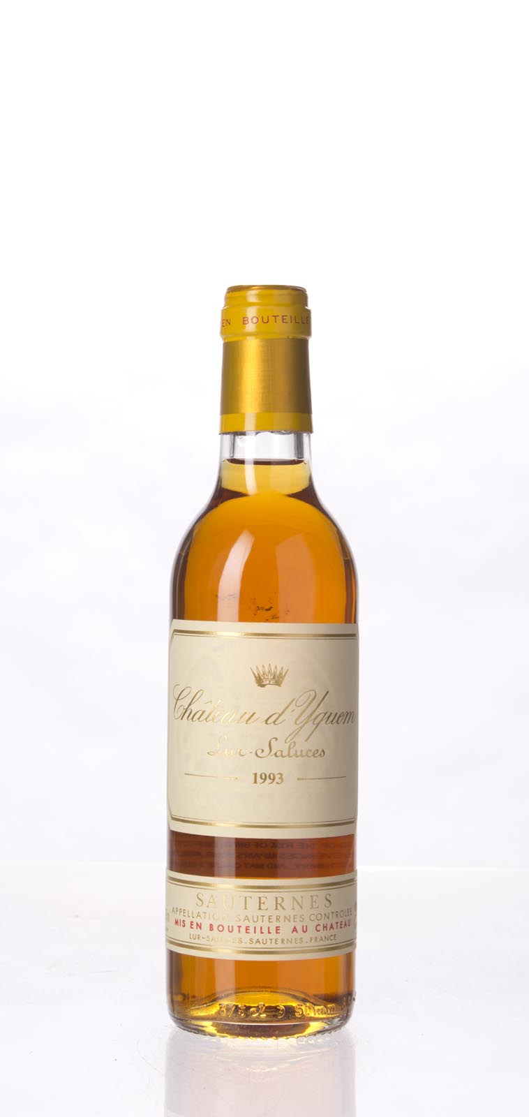 Chateau d`Yquem 1993, 375ml () from The BPW - Merchants of rare and fine wines.