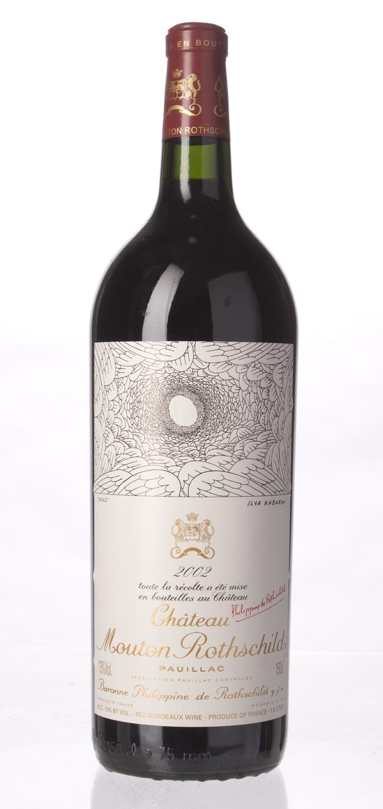 Mouton Rothschild 2002, 1.5L (WA93, ST94) from The BPW - Merchants of rare and fine wines.