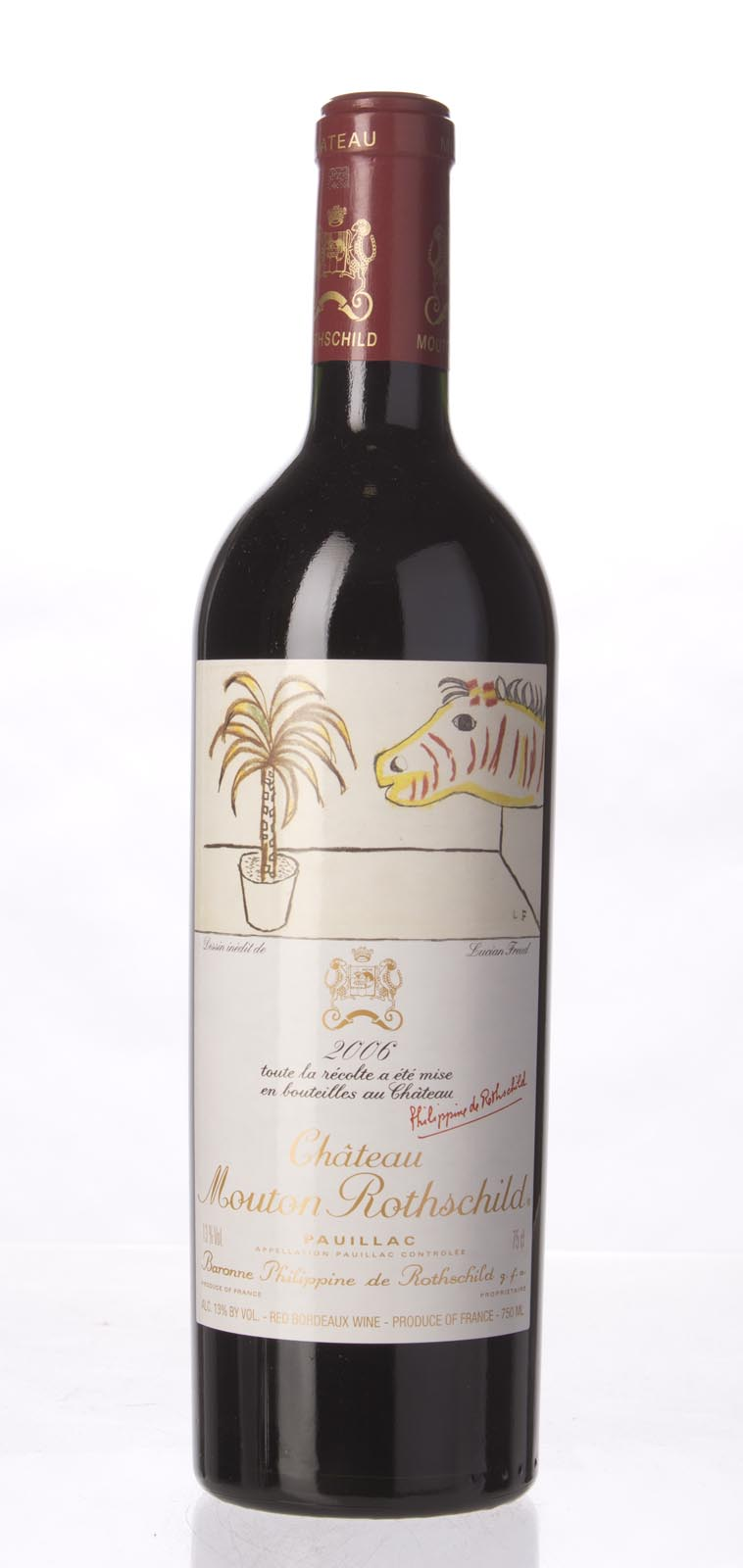 Mouton Rothschild 2006,  (WA98+, ST96+) from The BPW - Merchants of rare and fine wines.