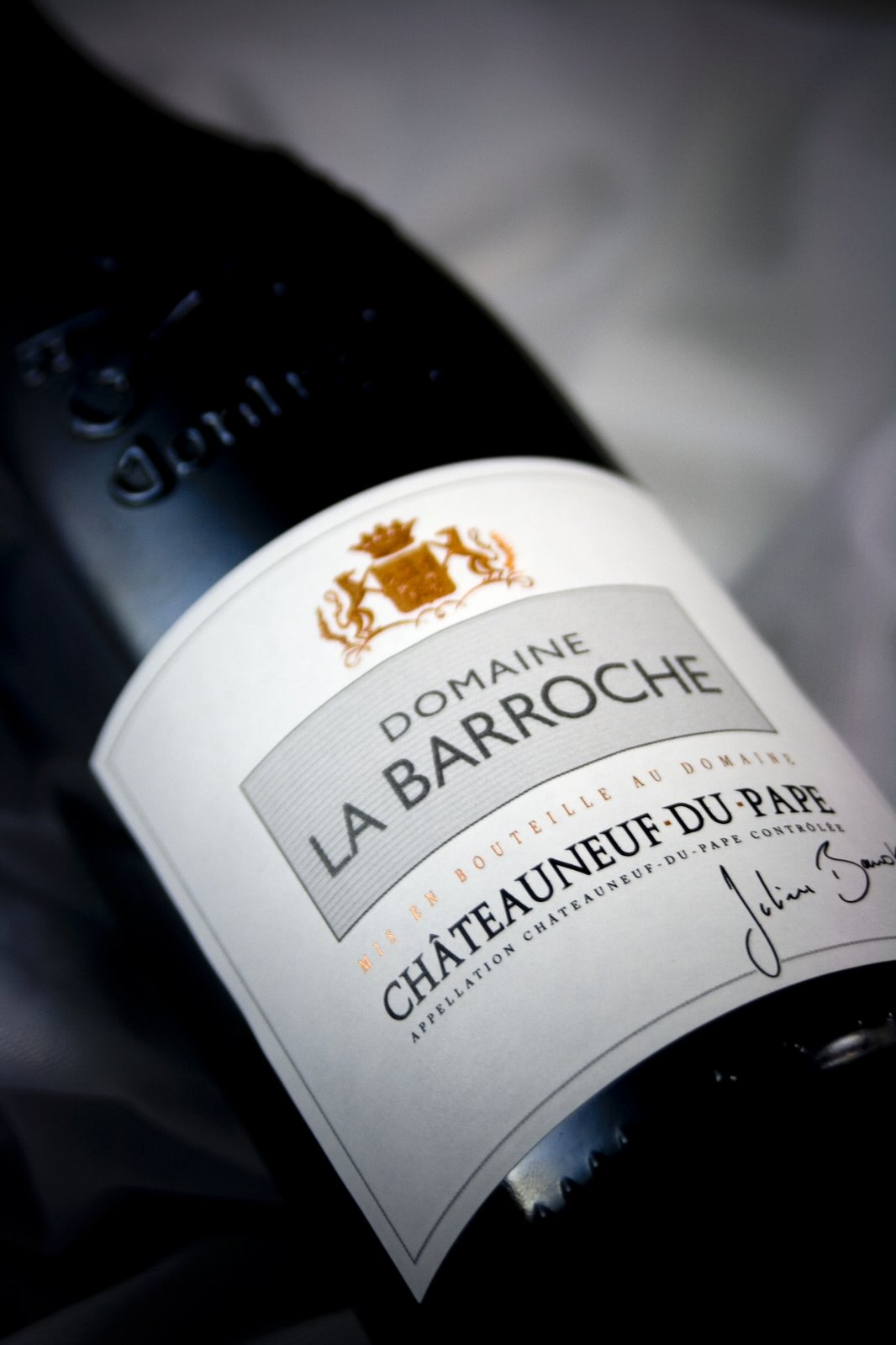 Domaine La Barroche Chateauneuf du Pape Signature 2008, 750ml (WS92, ST90, RR91) from The BPW - Merchants of rare and fine wines.