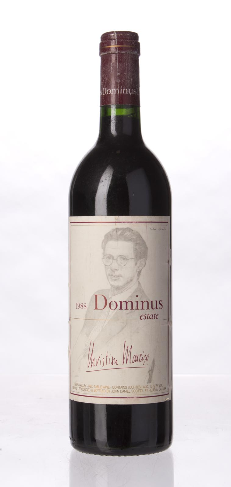 Dominus Proprietary Red Wine 1988,  (WA91) from The BPW - Merchants of rare and fine wines.