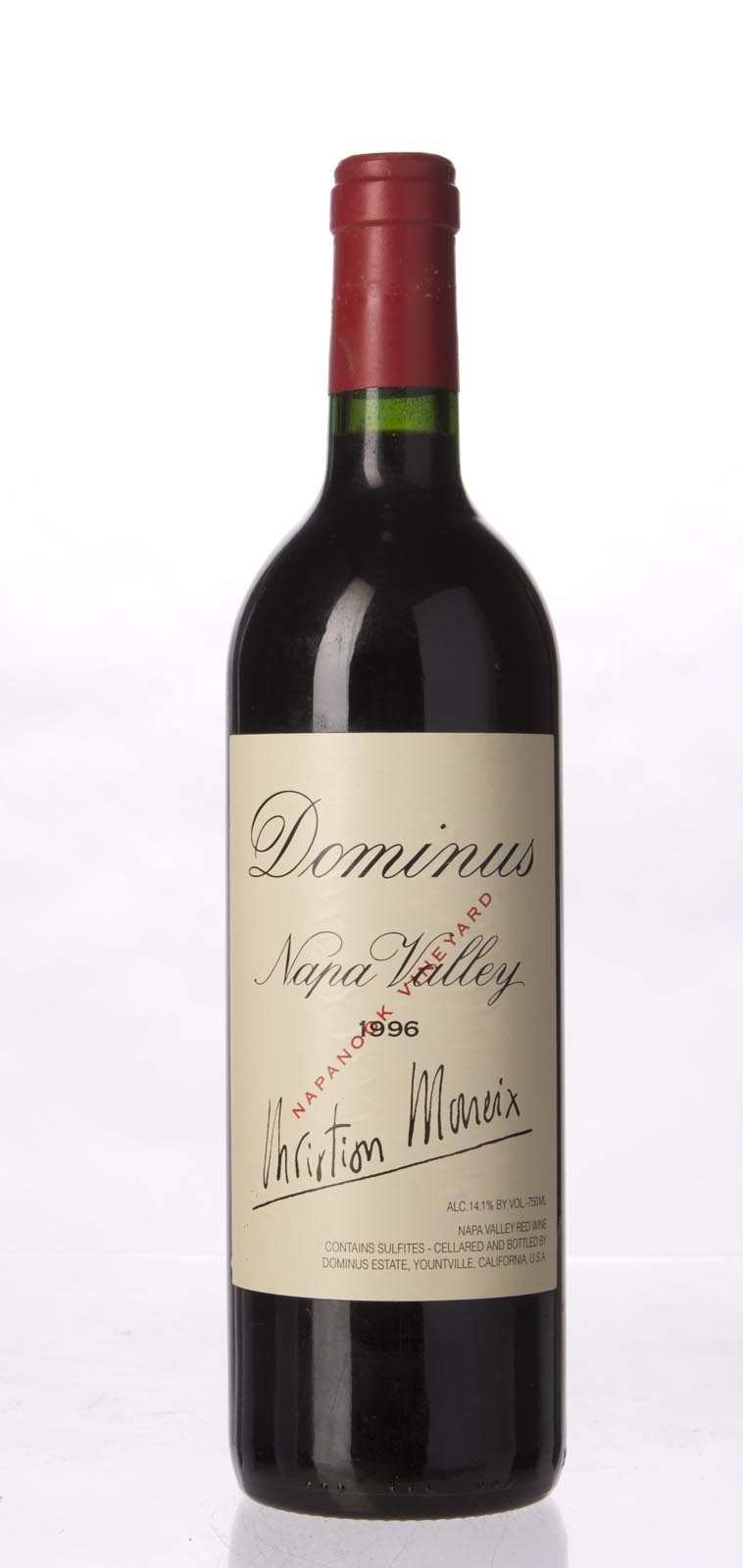 Dominus Proprietary Red Wine 1996,  (WA95) from The BPW - Merchants of rare and fine wines.