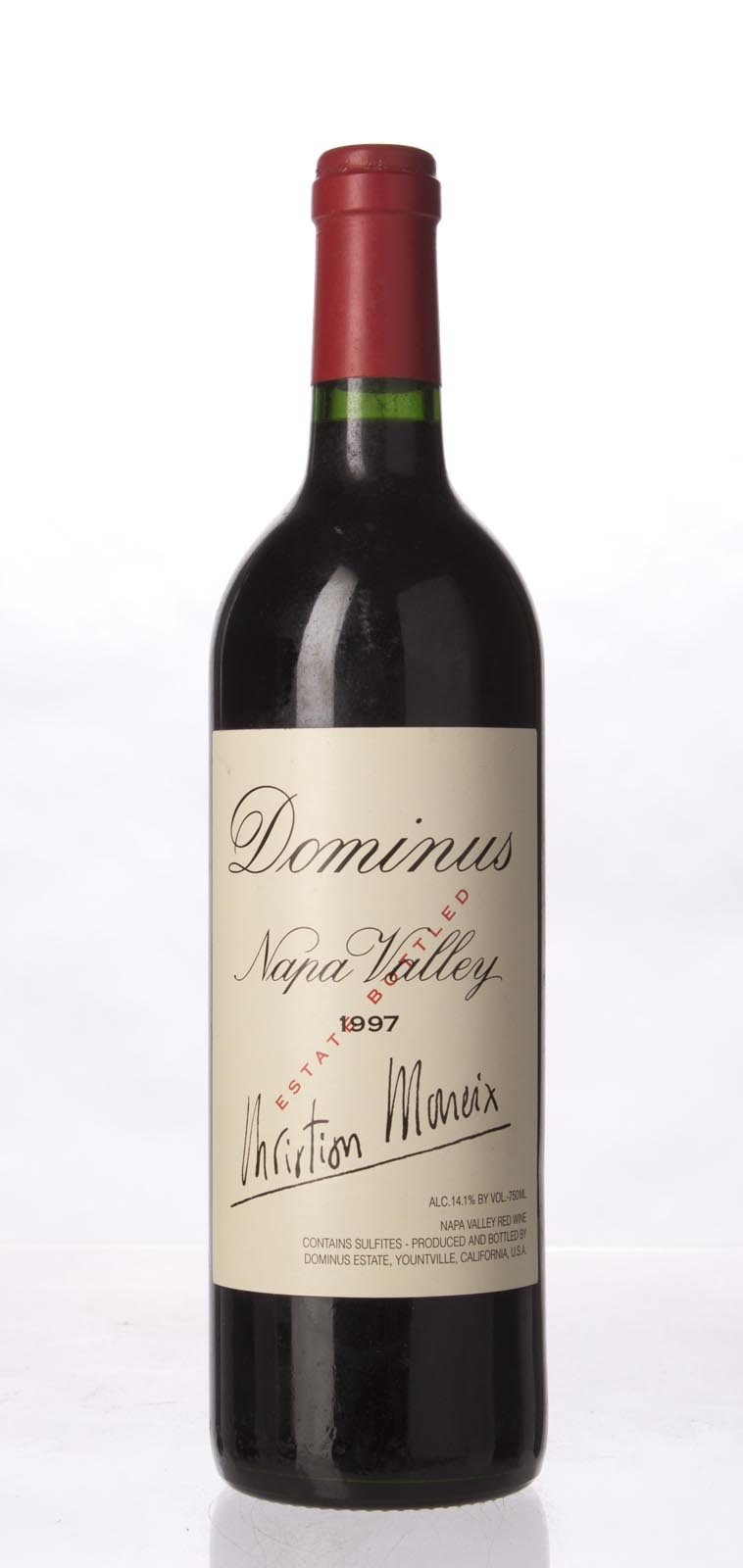 Dominus Proprietary Red Wine 1997,  (WA94, ST95, WS93) from The BPW - Merchants of rare and fine wines.