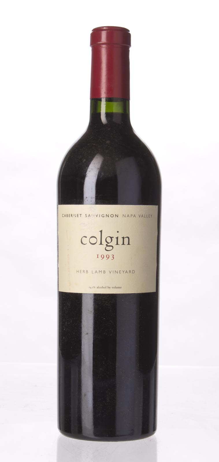 Colgin Cabernet Sauvignon Herb Lamb Vineyard 1993, 750ml (WA95, WS96) from The BPW - Merchants of rare and fine wines.